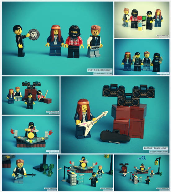 Music Website Gets Around Bands Photo Ban with LEGO Recreations thekillerslego2
