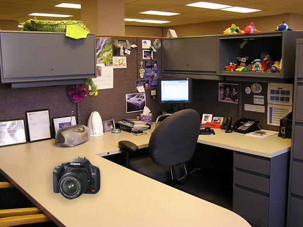 Make Photos On Nights And Weekends For The Rest Of Your Life cubicle1