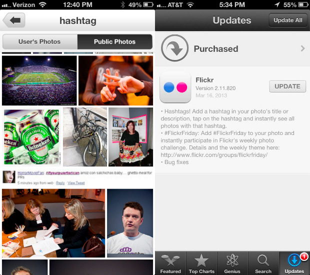 Flickr Jumps on the Hashtag Bandwagon, Beats Facebook to the Punch flickrhashtags3