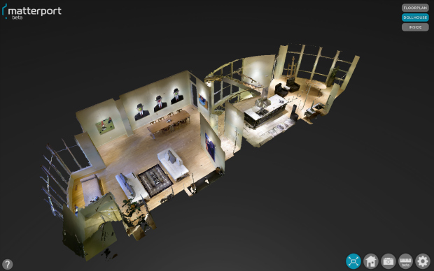 Matterport Captures Amazing 3D Interiors Using Special Camera matterport1