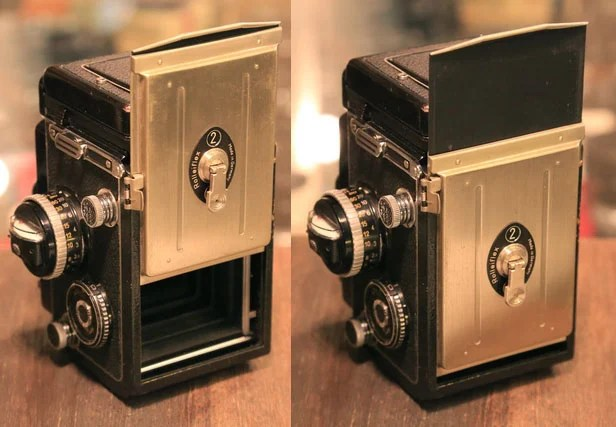 Hacking a Rolleiflex TLR to Shoot Fujifilm Instax Instant Photos rolleiinstax