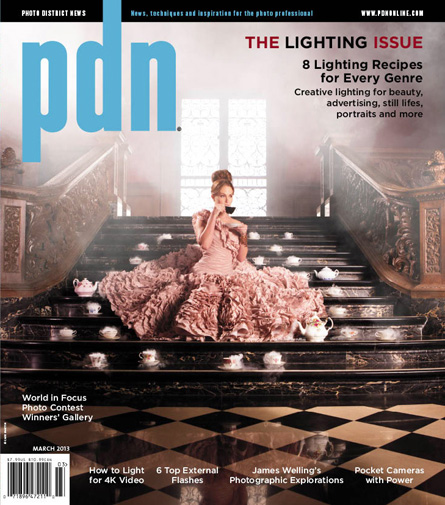 Photog Accuses PDN of Using a Second Rate Imitation on Their March Cover pdncover