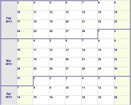 Pet Marketing Calendar Template \u2013 PetCopywriter - calendar template for website