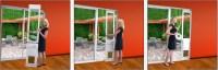HighTech Power Pet Automatic Dog Door | In Sliding Glass