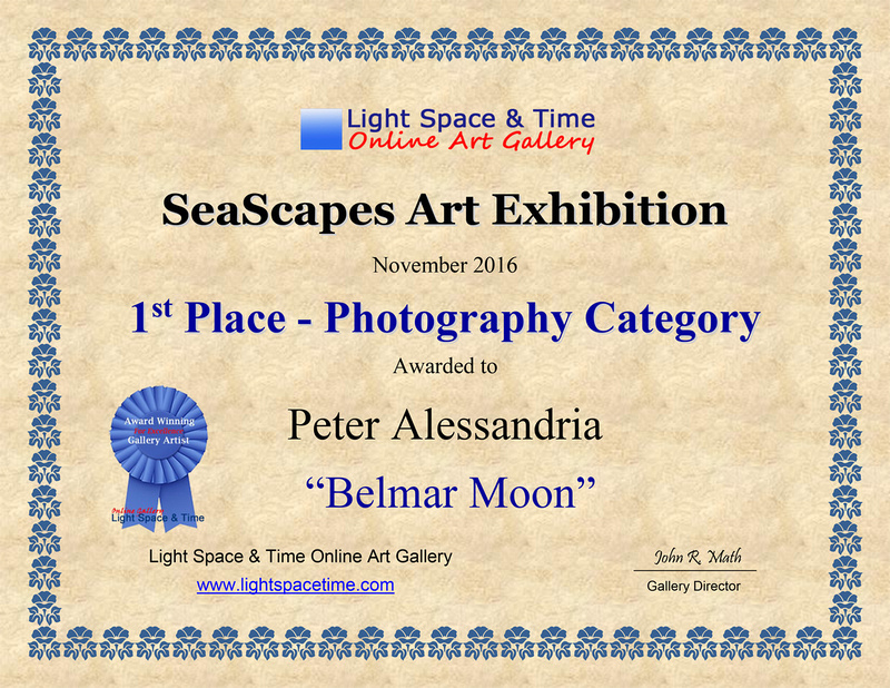 PETER ALESSANDRIA PHOTOGRAPHY Seascapes 2016 Juried Art Exhibit