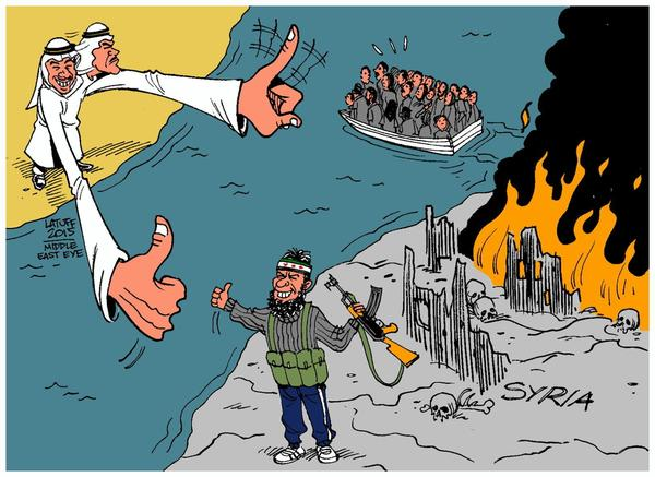 The Policy of the Arab World's Wealthiest Nations Towards Refugees