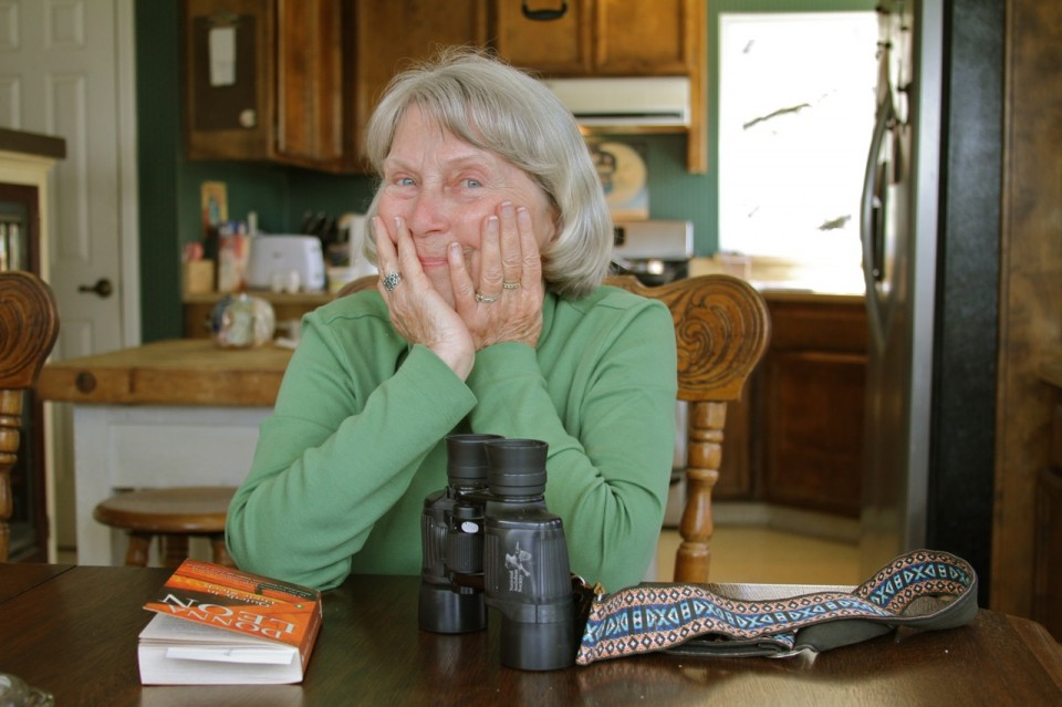 My mother, photographed in Meadow Vista, California, USA, April 2011.