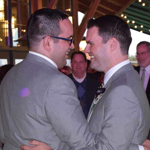 Wedding Photos: Matt and Justin at Glenora Wine Cellars, 10/24/15