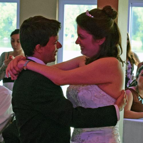 Wedding: Clare and James at Cross Lake Inn and Marina, 6/4/16