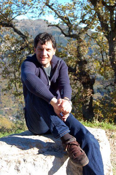 Peter Walt in Südfrankreich.