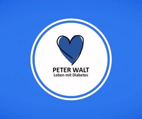 Leben mit Diabetes – der Video-Blog von Peter Walt