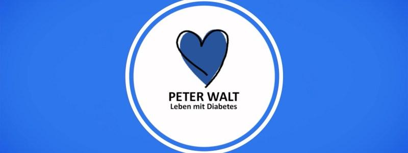 Leben mit Diabetes - der Video-Blog von Peter Walt