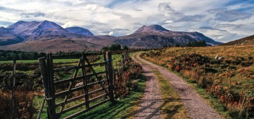 Beinn Eighe landscape from the Heights of Kinlochewe walk