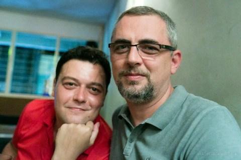 Împreună cu românul din Myanmar - e tipul din stânga :-)