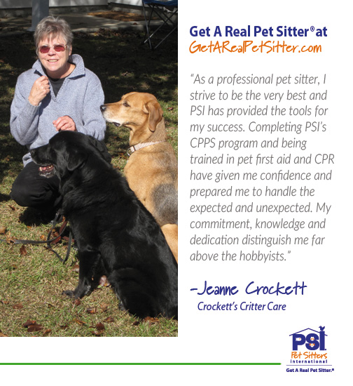 Use a Professional Pet Sitter Pet Sitters International - pet babysitter