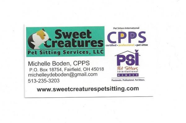 Beautiful Pet Sitter Business Card #WW57 u2013