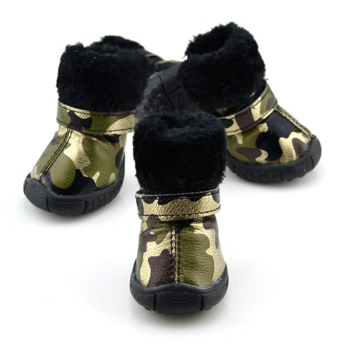 Medium Of Dog Boots For Winter