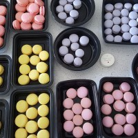 Baby's Full Moon Celebration Macaron Favours