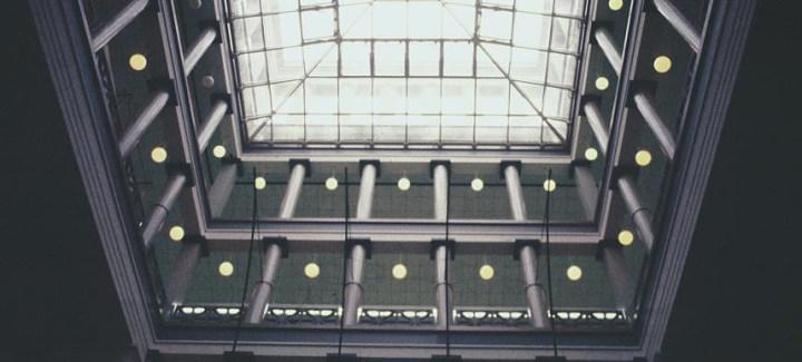 University of Houston College of Architecture atrium
