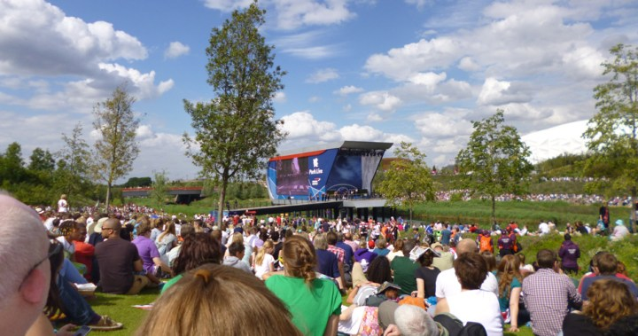 pettydesign | London2012 | Olympic Park Public Viewing