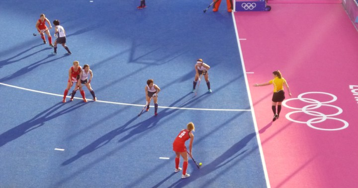 pettydesign | London2012 | Women's Field Hockey | Team GB vs Japan