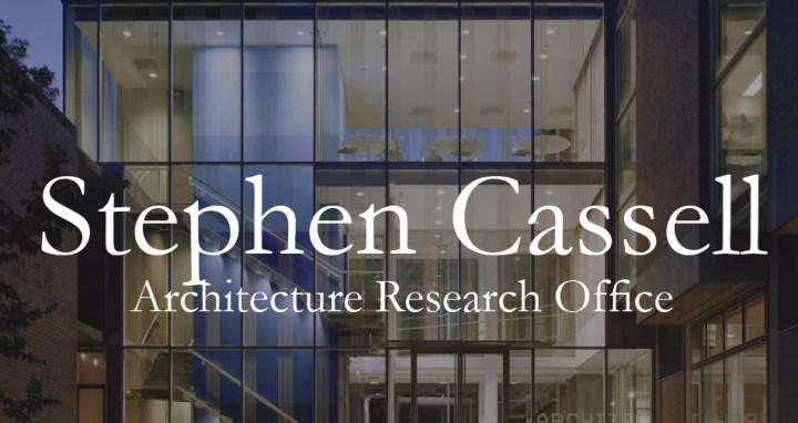 Architectural Startup: Stephen Cassell   James Petty   pettydesign