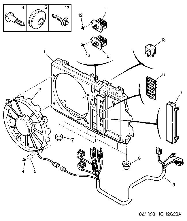 peugeot 406 engine diagram