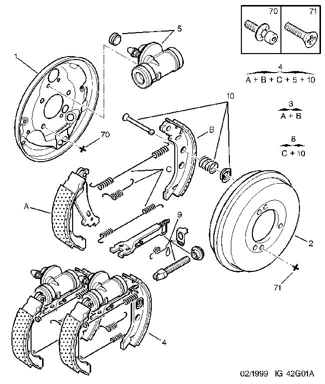 peugeot 406 a c bedradings schema