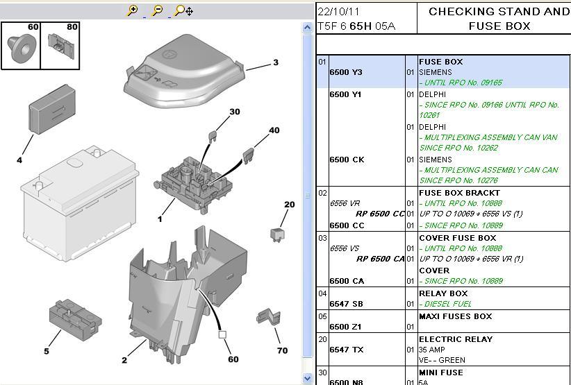 Fuse Box In Peugeot 307 Online Wiring Diagram