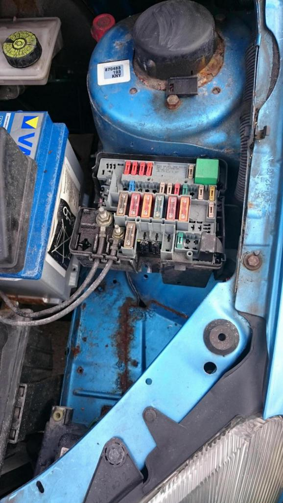 Peugeot 206 Fuse Box Removal Wiring Diagram