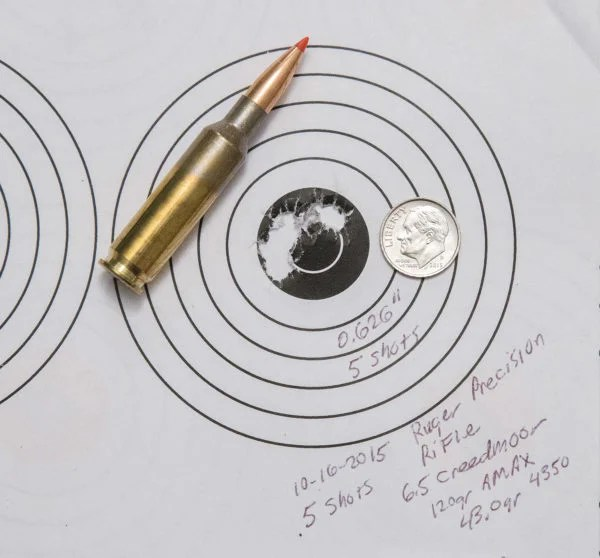 New 65 Creedmoor Ballistics Chart 1000 Yards cvfreeletters