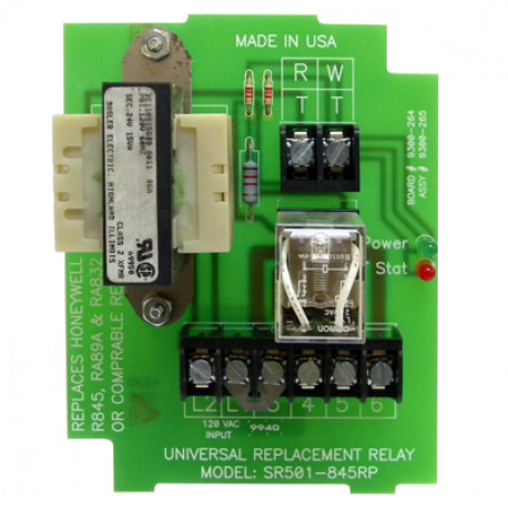 Taco SR501-845RP, Universal Replacement Relay - PexUniverse