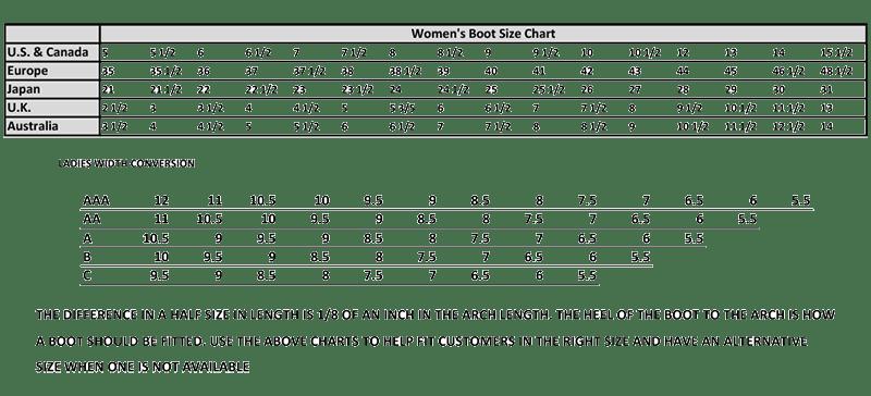 Wrangler Shoes Size Chart Style Guru Fashion Glitz