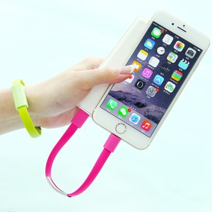 Brand-New-Mobile-Phone-Cables-font-b-Bracelet-b-font-Charging-5S-USB-Data-Cable-For