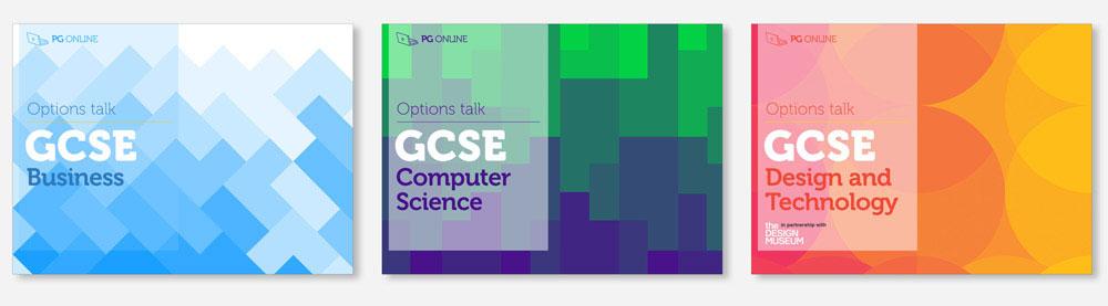 PG Online - Free GCSE Options presentations PG Online