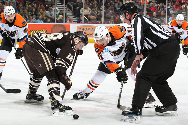 Phantoms Comeback Late But Hershey Wins in Shootout - Lehigh Valley