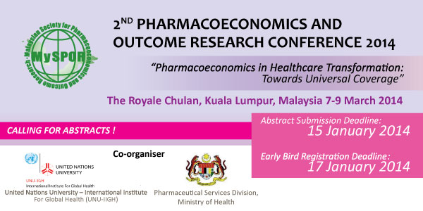 2nd Pharmacoeconomics  Outcome Research Conference 2014