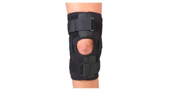 Gripper Hinged Knee Braces 12quot Coolflex