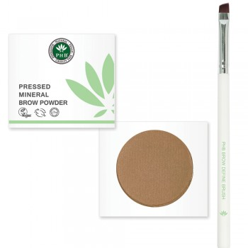 PHB Beautiful Brows Product Bundle (Brow Powder + Brow Define Brush) - define product