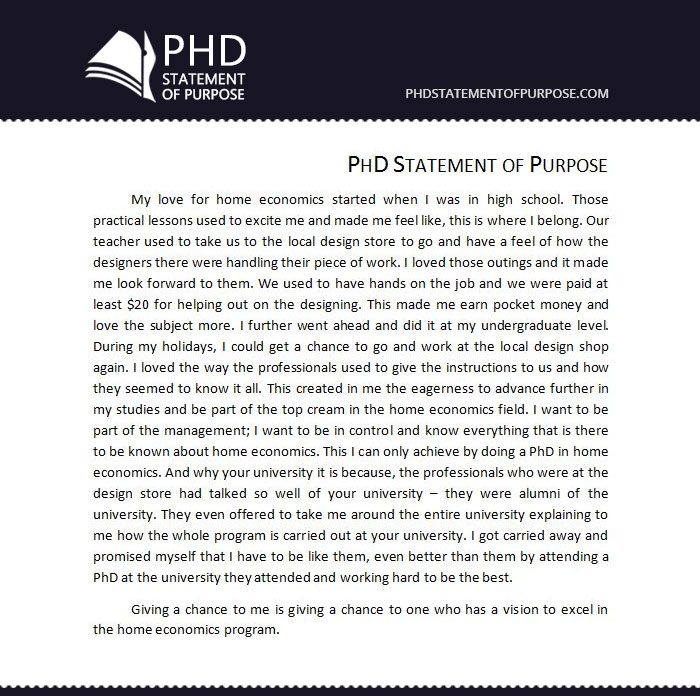 Sample Sop for Phd Free Phd Statement of Purpose - Free Sop