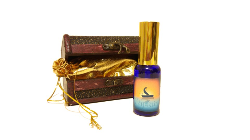 Captain - 30ml with Treasure Chest