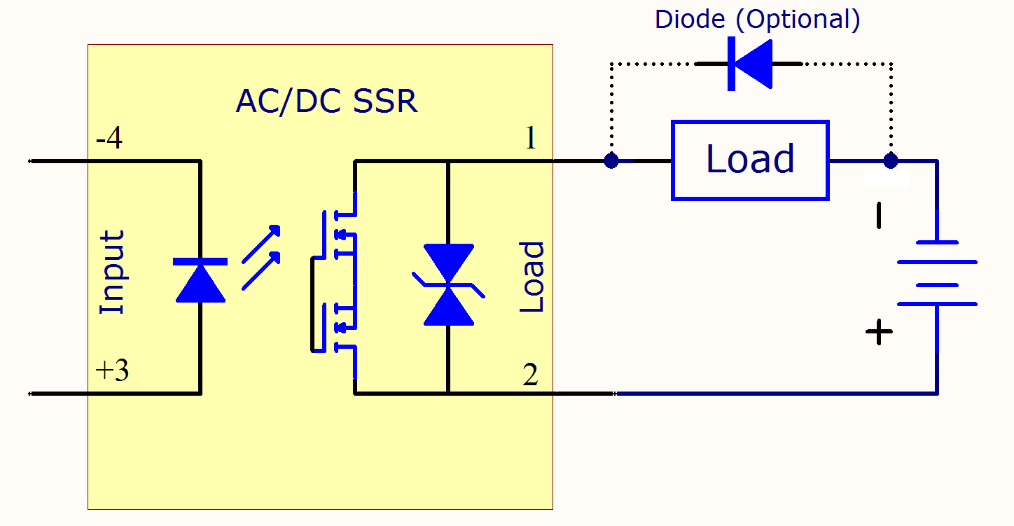 solid state relay schematic diagram