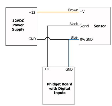 Wiring Proximity On Inductive Proximity Sensor Wiring Diagram Pinout