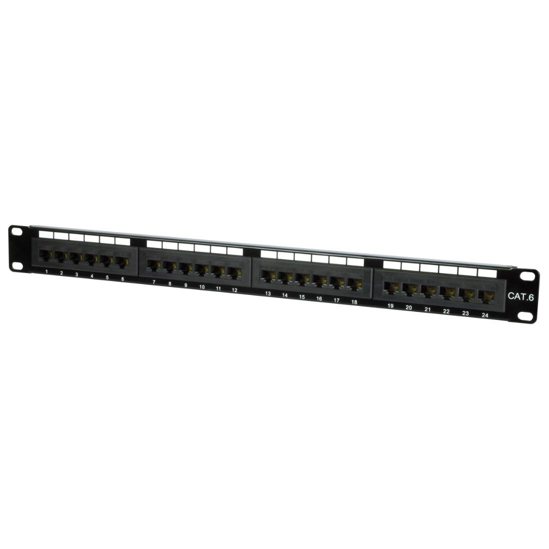 cat 6 patch panel cable management