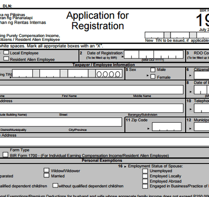 Application For Employment Authorization Uscis How To Apply For Taxpayer Identification Number Tin Ppn