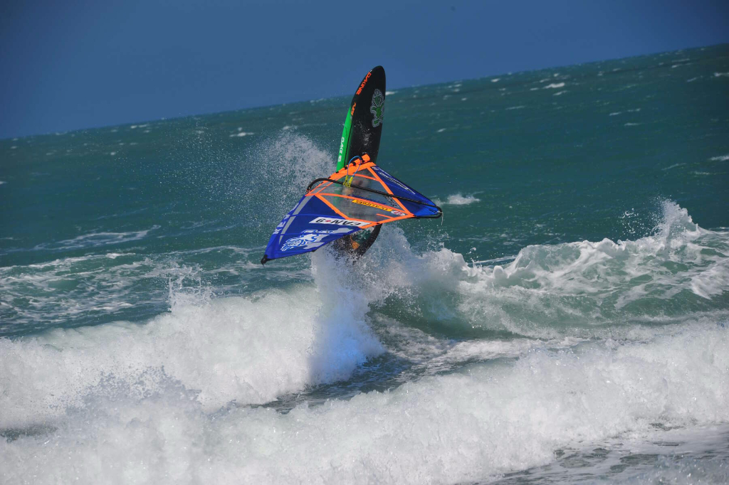 360 by Phil Soltysiak CAN 9 Windsurfing in Jericoacoara, Brazil. Photo by Adrian Irvine.