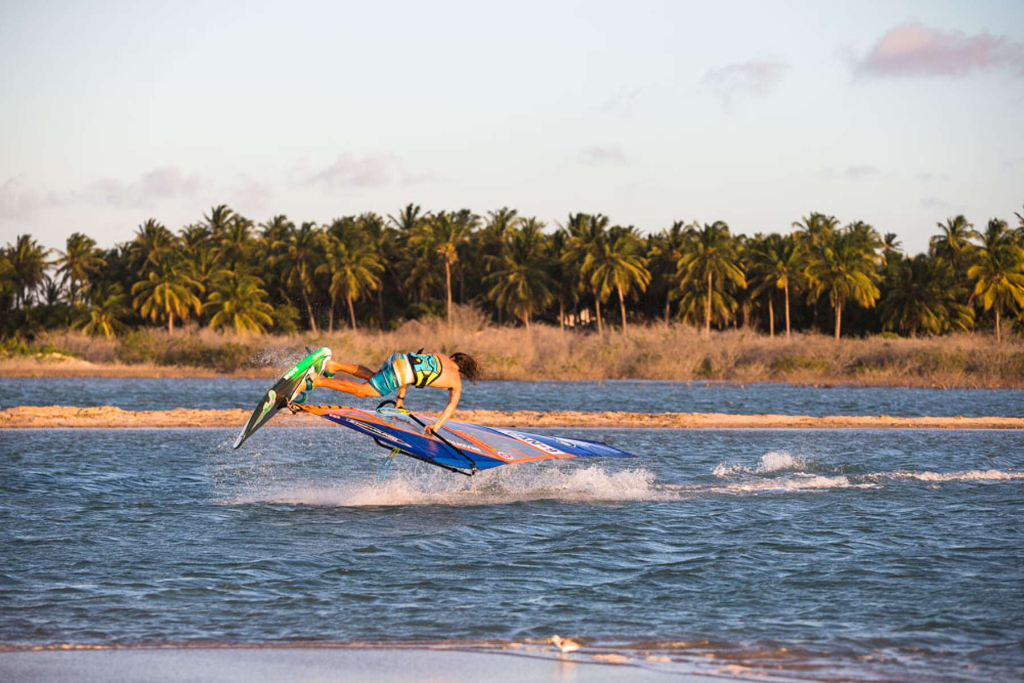 Lagoon Culo by Phil Soltysiak CAN 9 Windsurfing in Jericoacoara, Brazil. Photo by Tricktionary/Michael Rossmeier.