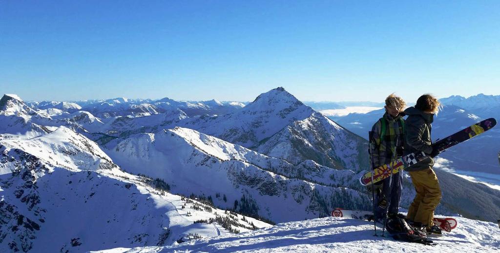 Climbing Mount Mackenzie, British Columbia, Canada.