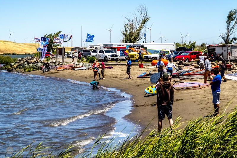 Rio Vista Grand Slam Beach Scene