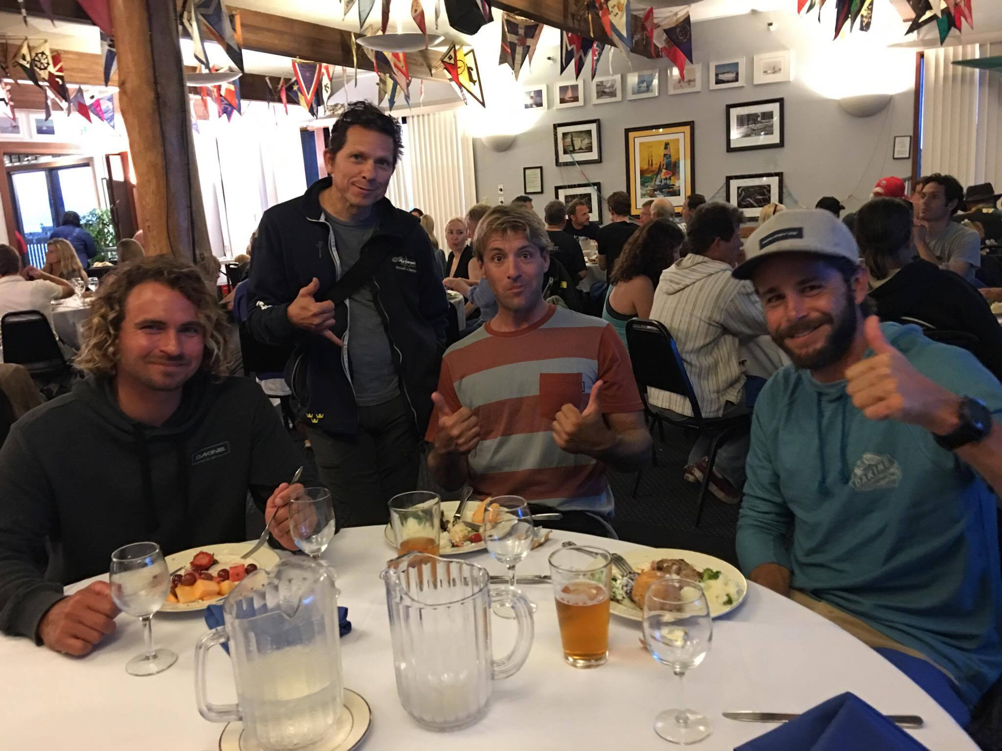 Dinner time at the US Nationals.Photo by Lyrah Colvin.